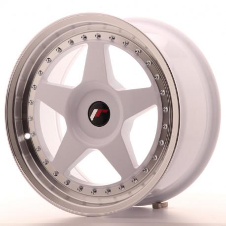 Japan Racing aluminum wheels JR Wheel JR6 17x8 ET35 Blank White   races-shop.com