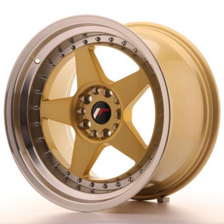 Japan Racing aluminum wheels JR Wheel JR6 18x10,5 ET25 5x114,3/120 Gold | races-shop.com