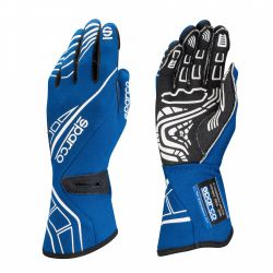 Race gloves Sparco LAP RG-5 with FIA blue