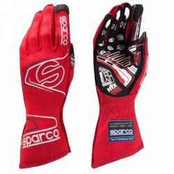 Race gloves Sparco Arrow EVO RG-7 with FIA (outside stitching) RED