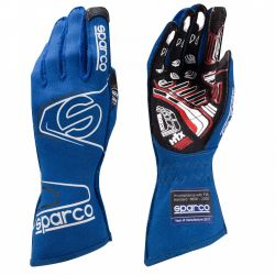Race gloves Sparco Arrow EVO RG-7 with FIA (outside stitching) blue