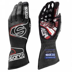 Race gloves Sparco Arrow EVO RG-7 with FIA (outside stitching) black-red