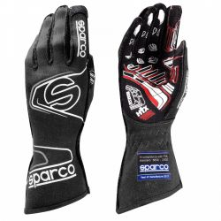 Race gloves Sparco Arrow EVO RG-7 with FIA (outside stitching) black-grey