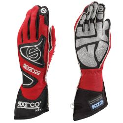 Race gloves Sparco Tide RG-9 with FIA (outside stitching) red
