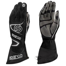 Race gloves Sparco Tide RG-9 with FIA (outside stitching) black