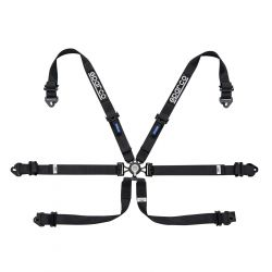 FIA 6 point SPARCO safety belts (HANS)