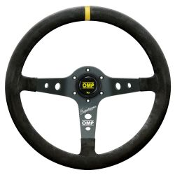 3 spokes steering wheel OMP Corsica Superleggero, 350mm suede, 95mm
