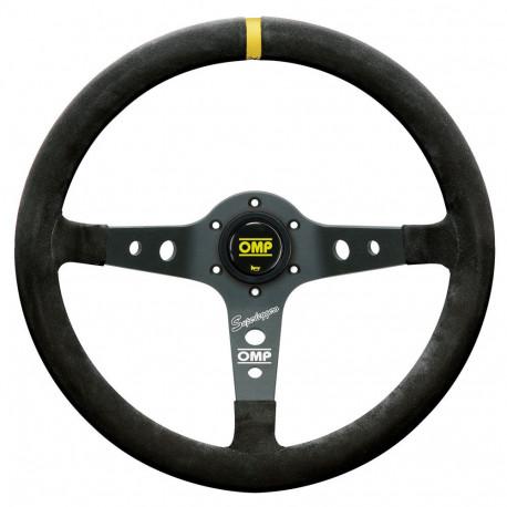 steering wheels 3 spokes steering wheel OMP Corsica Superleggero, 350mm suede, 95mm   races-shop.com