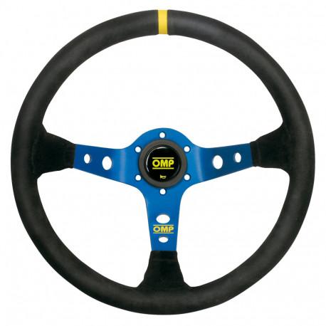 steering wheels 3 spokes steering wheel OMP Corsica, 350mm suede, 95mm | races-shop.com