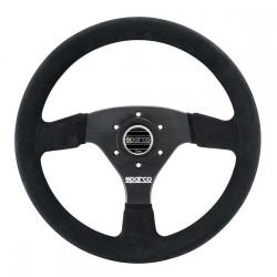 3 spokes steering wheel Sparco R323, 330mm suede, 39mm
