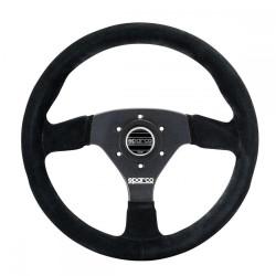 3 spokes steering wheel Sparco R383, 330m suede, 39mm