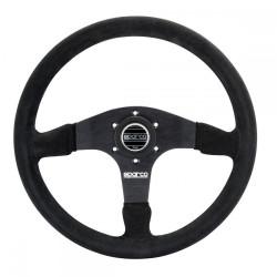 3 spokes steering wheel Sparco R375, 350mm suede, 36mm