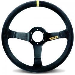 3 spokes steering wheel Sparco R345, 350mm suede, 63mm