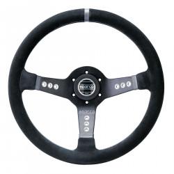 3 spokes steering wheel Sparco L277, 350mm suede, 63mm