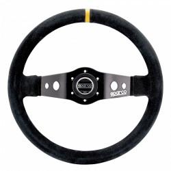 2 spokes steering wheel Sparco R215, 350mm suede, 90mm