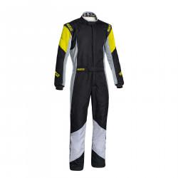 FIA race suit Sparco Grip RS-4 black/yellow