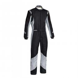 FIA race suit Sparco Grip RS-4 black/grey