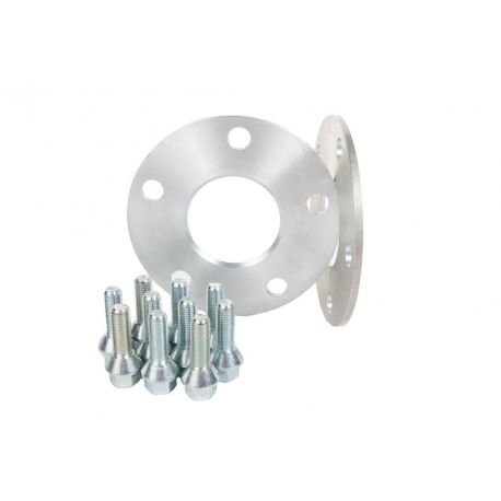 For specific model Set of 2psc wheel spacers for Dacia - 5mm (with long bolt), 4x100, 60,1mm   races-shop.com