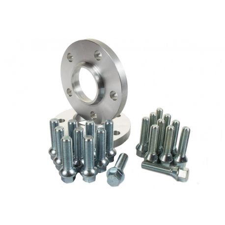 For specific model Set of 2psc wheel spacers for Audi - 15mm (with long bolt), 5x112, 57,1mm   races-shop.com