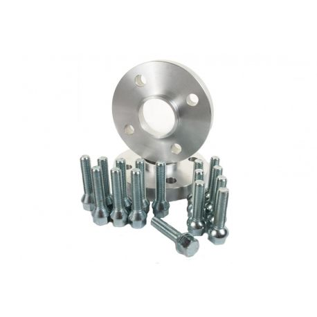 For specific model Set of 2psc wheel spacers for Dacia - 15mm (with long bolt), 4x100, 60,1mm | races-shop.com