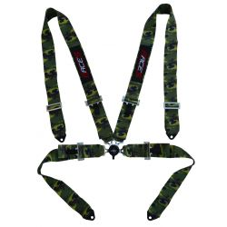 "4 point safety belts RACES 3"" (76mm), camo"