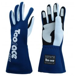 RACES TRST2 gloves with FIA approval (inside stitching) blue