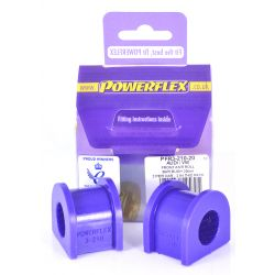 Powerflex Rear Anti Roll Bar Bush 20mm Audi A4 inc. Avant Quattro (4WD)