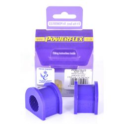 Powerflex Rear Anti Roll Bar Bush 22mm Audi A4 inc. Avant Quattro (4WD)