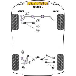 Powerflex Rear Tie Rod Outer Bush Audi A6 (2011 - )