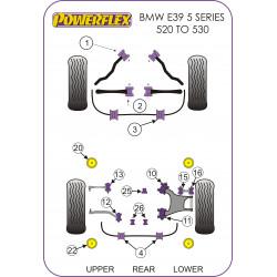 Powerflex Front Anti Roll Bar Bush 23mm BMW E39 5 Series 520 to 530