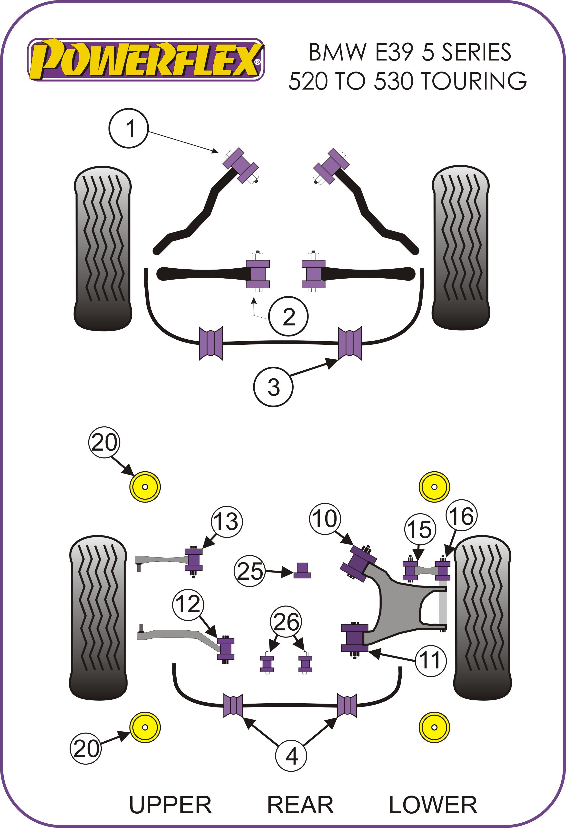 35 Bmw E39 Rear Suspension Diagram