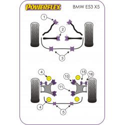 Powerflex Rear Outer Integral Link Upper Bush BMW E53 X5 (1999-2006)