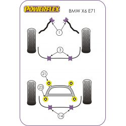 Powerflex Front Anti Roll Bar Mounting Bush BMW E71 X6 (2007-)