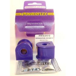Powerflex Rear Anti Roll Bar Mounting Bush 12mm Ford Sierra 4X4 2.8 & 2.9, XR4i
