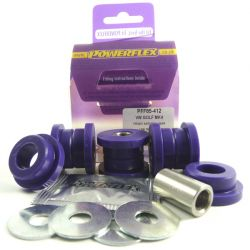 Powerflex Front Anti Roll Bar Link Bush Kit Volkswagen Bora 2WD (1997 - 2006)