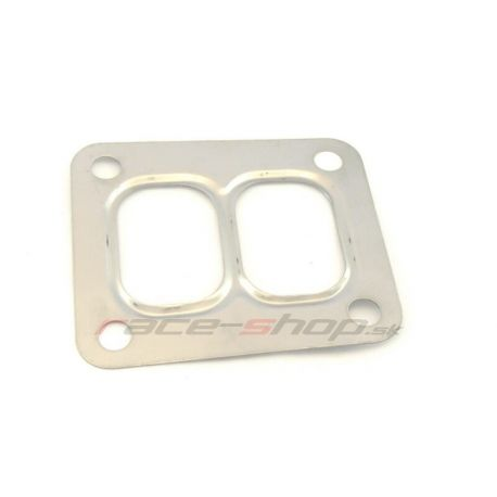 Turbo gaskets universal Divided Turbo to exhaust gasket for turbo T4, steel | races-shop.com