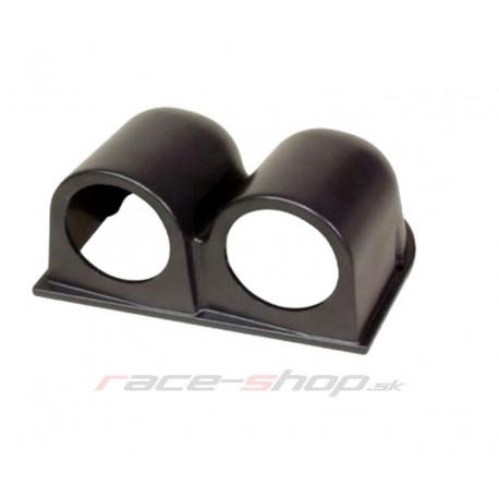 Gauge holders universal Dual gauge dashboard holder 52mm | races-shop.com