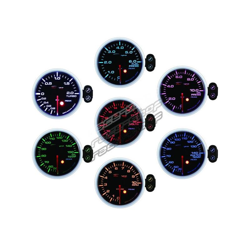 Programmable DEPO racing gauge Electric boost -1 to 2bar 44b59b0568b