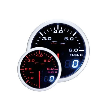 Gauges DEPO Dual view series 52mm DEPO racing gauge fuel pressure - Dual view series   races-shop.com