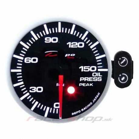 Gauges DEPO PK series 52mm Programmable DEPO racing gauge Oil pressure   races-shop.com