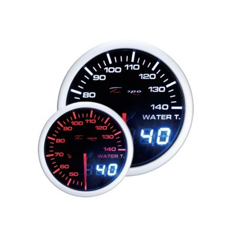 Gauges DEPO Dual view series 52mm DEPO racing gauge Water temp - Dual view series | races-shop.com