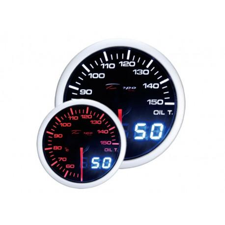 Gauges DEPO Dual view series 52mm DEPO racing gauge Oil temperature - Dual view series | races-shop.com
