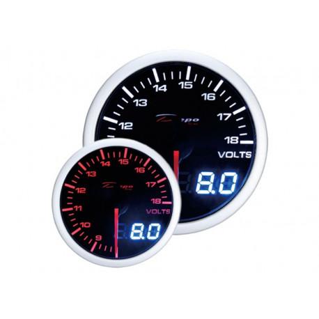 Gauges DEPO Dual view series 52mm DEPO racing gauge Volt - Dual view series | races-shop.com