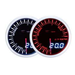 DEPO racing gauge A/F Ratio - Dual view series