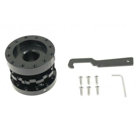Universal quick release steering wheel hubs Adjustable steering wheel adapter | races-shop.com