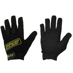 Gloves RACES Mechanic yellow