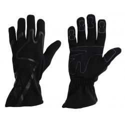 Racing driving gloves - RACES Premium black