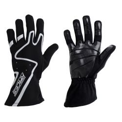 Racing driving gloves - RACES Premium Silicone grey