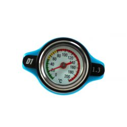 Radiator cap D1spec 1,3BAR 15mm with thermometer