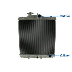 ALU radiator for Honda Civic 93-97 del sol